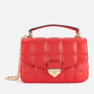 Michael Michael Kors Women's Soho Small Chain Shoulder Bag - Bright Red