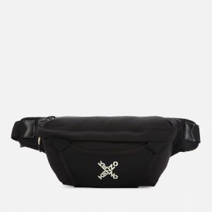 KENZO Men's Sport Large Beltbag - Black