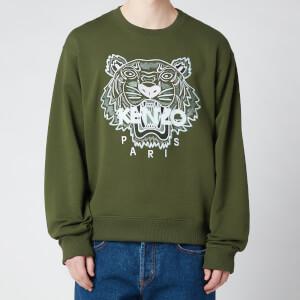 KENZO Men's Tiger Classic Sweatshirt - Dark Khaki
