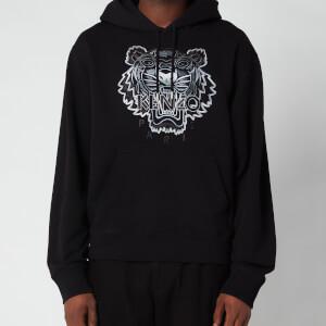 Kenzo Men's Gradient Tiger Classic Hooded Sweatshirt - Black