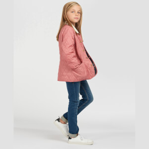Barbour Girls' Printed Summer Liddesdale Jacket - Vintage Rose