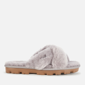 UGG Women's Fuzzette Sheepskin Slide Slippers - Soft Amethyst
