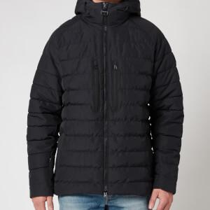 Barbour International Men's River Quilted Jacket - Black