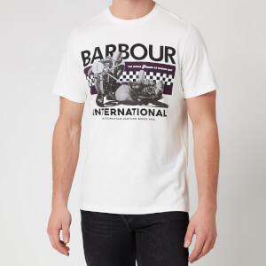 Barbour International Men's Racer T-Shirt - Whisper White