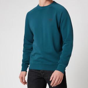 Barbour Beacon Men's Crewneck Sweatshirt - Deep Lagoon