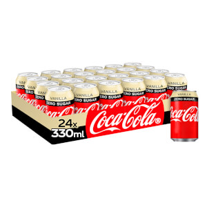 Coca-Cola Zero Sugar Vanilla 24 x 330ml