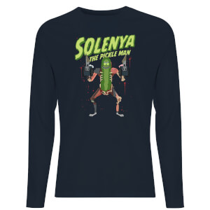 Rick and Morty Solenya Unisex Long Sleeve T-Shirt - Navy
