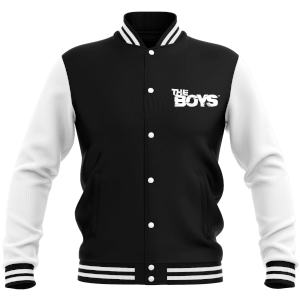 The Boys Unisex Varsity Jacket - Black