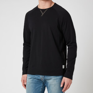 PS Paul Smith Men's Jersey Cotton Longsleeve Top - Black