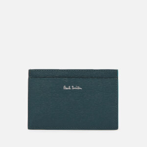 PS Paul Smith Men's Leather Credit Card Holder - Blue