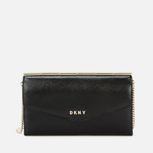 DKNY Women's Heidi Convertible Wallet - Black