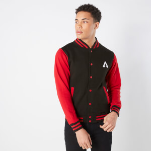 Apex Legends Unisex Varsity Jacket - Black / Red