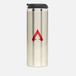 Apex Legends Red Sigil Stainless Steel Thermo Travel Mug - Metallic Finish