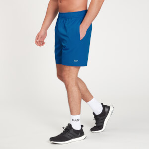 MP Men's Graphic Running Shorts - True Blue