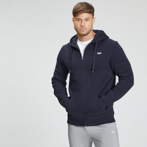 MP Men's Essentials Zip Up Hoodie - Navy