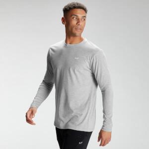 MP Men's Essentials Long Sleeve Top - Classic Grey Marl