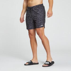 MP muške kratke hlače za plivanje Pacific s otiskom – crna