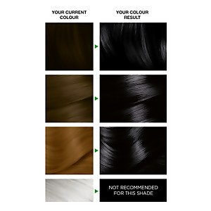 Garnier Nutrisse Ultra Colour Permanent Hair Dye - 1.10 Infinite Black 160ml