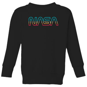NASA Spectrum Kids' Sweatshirt - Black