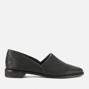 Clarks Women's Pure Easy Leather Flats - Black