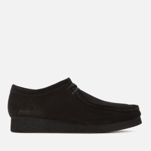 Clarks Men's Wallabee 2 Suede Shoes - Black