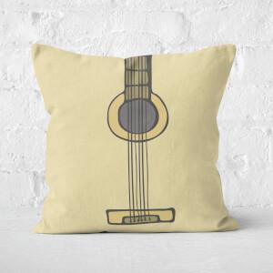 Guitar Square Cushion