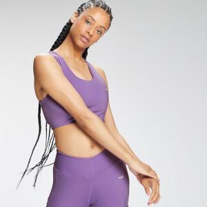MP Women's Tempo cross Back Repreve® Sports Bra - Deep Lilac