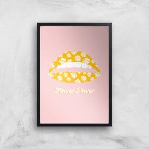 Flower Power Giclee Art Print