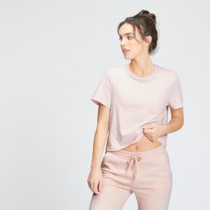 MP Women's Essentials Crop T-Shirt - Light Pink