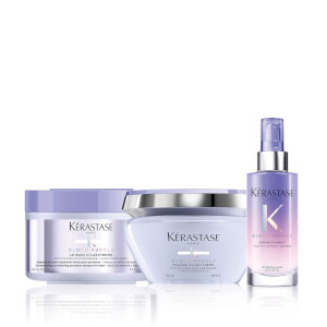 Kérastase Blond Absolu Restoring Shampoo, Mask and Overnight Serum Trio