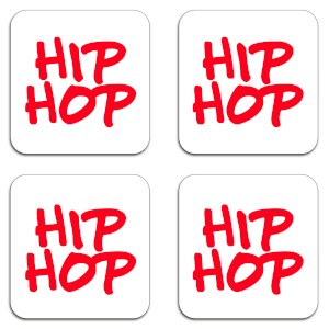 Hip Hop Coaster Set