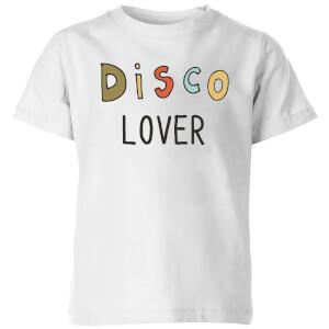 Disco Lover Kids' T-Shirt - White