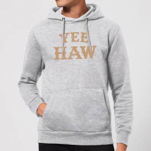 Yee Haw Hoodie - Grey