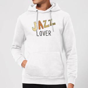 Jazz Lover Hoodie - White