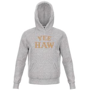Yee Haw Kids' Hoodie - Grey