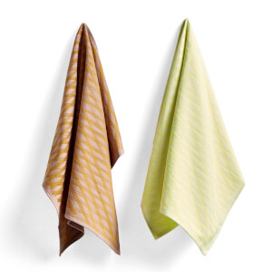 HAY Tea Towel Yellow - Set of 2