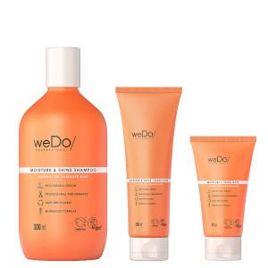 weDo/ Professional Moisture and Shine Trio