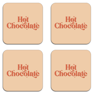 Hot Chocolate  Coaster Set