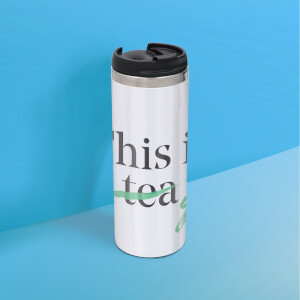 This Is Tea Stainless Steel Thermo Travel Mug