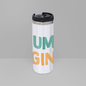Mum's Gin Stainless Steel Thermo Travel Mug