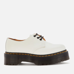 Dr. Martens Women's 1461 Quad Leather 3-Eye Shoes - White