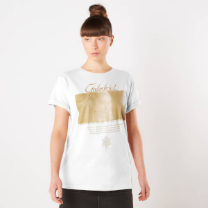 Lord Of The Rings Galadriel Lady Of The Galadhrim Women's T-Shirt - White