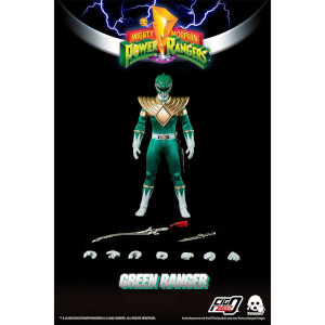 ThreeZero Power Rangers Green Ranger 1:6 Scale Figure