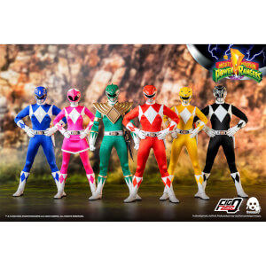 ThreeZero Power Rangers 1:6 Scale Figure Six-Pack