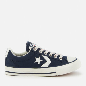 Converse Kids' Star Player Ox Trainers - Obsidian