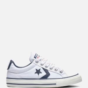 Converse Kids' Star Player Ox Trainers - White