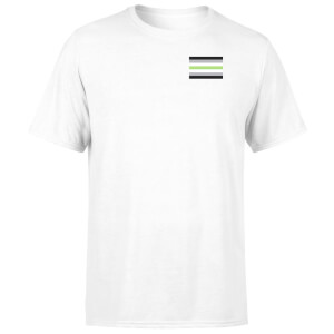 Agender Flag T-Shirt - White