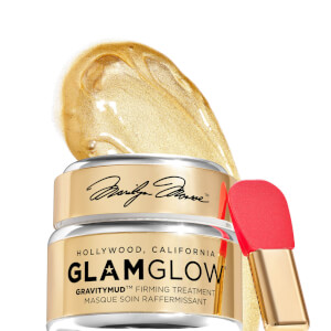 GLAMGLOW Exclusive Marilyn Monglow Gold Gravitymud Mask 50g