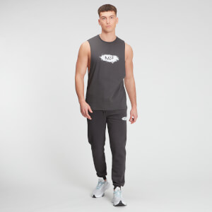 MP Men's Chalk Graphic Tank Top - Carbon