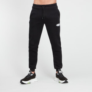 MP Men's Chalk Graphic Joggers - Black